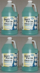 Deck & Patio Cleaner 4 Gallon