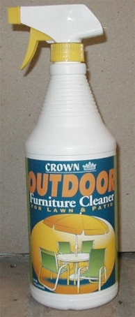 Outdoor furniture cleaner 32 oz for Outdoor furniture cleaner