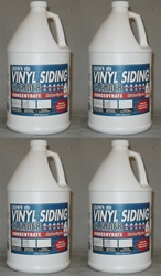 Vinyl Siding Cleaner 4 Gallon Pack