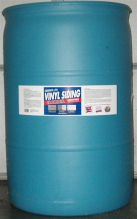 vinyl siding cleaner 55 gallon drum