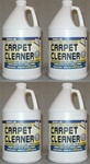 Carpet Cleaner 4 Gallon Pack
